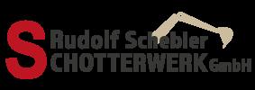 Rudolf Schebler Schotterwerk GmbH Logo